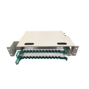 DIO – Distribuidor Óptico Interno 24F 2U Para Rack's