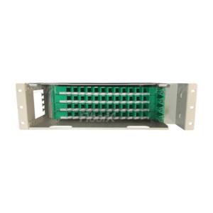 DIO – Distribuidor Interno Óptico 48F 3U Para Rack's