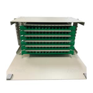 DIO – Distribuidor Interno Óptico 72F 5U Para Rack's